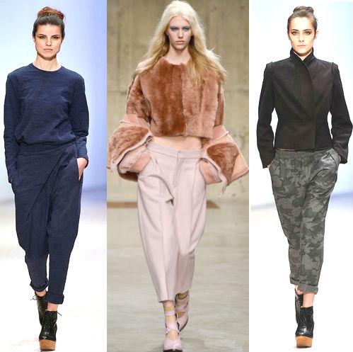 мода осень 2013-2014 фото