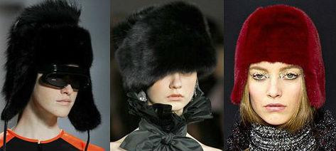 шапки мода зима 2013-2014 фото