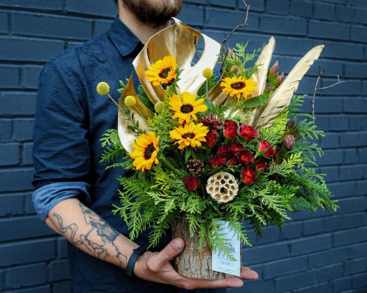 цветы для мужика 50 лет