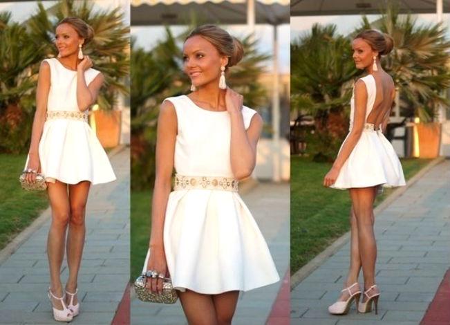 фото летние вечерние платья с рукавами