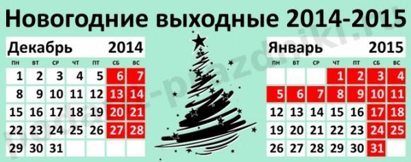 новогодние праздники 2015