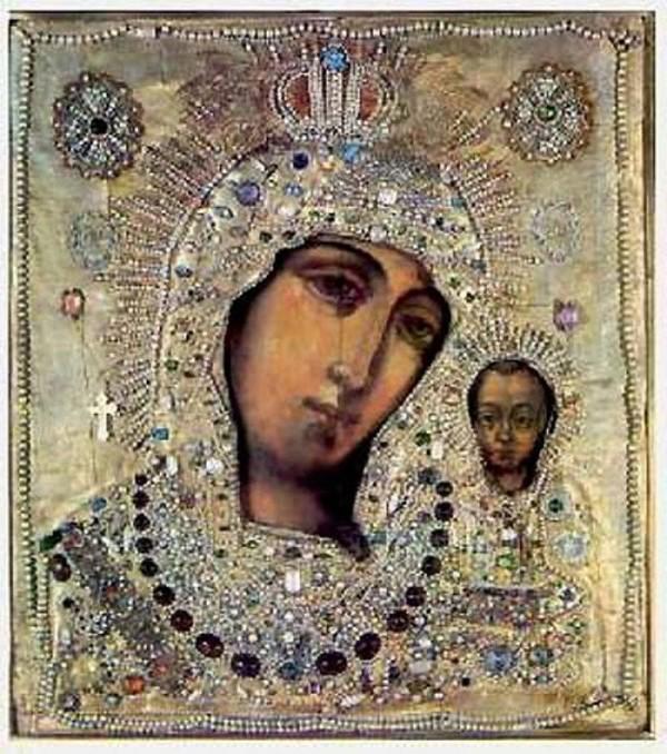 икона казанский божьей матери фото